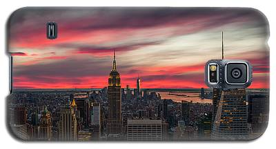New York City Skyline Galaxy S5 Cases