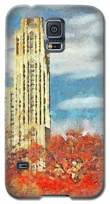 The Cathedral Of Learning At The University Of Pittsburgh Galaxy S5 Case