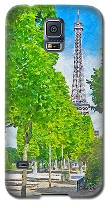 The Eiffel Tower In The Spring Of 2014 Galaxy S5 Case