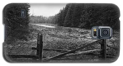 The Gate In Black And White Galaxy S5 Case