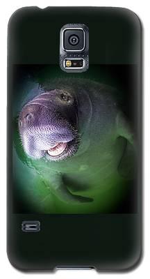 The Happy Manatee Galaxy S5 Case