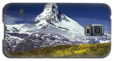The Matterhorn With Alpine Meadow In Foreground Galaxy S5 Case