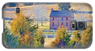 The Stone House / Manassas National Battlefield Park In Winter Galaxy S5 Case