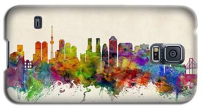 Tokyo Skyline Galaxy S5 Cases