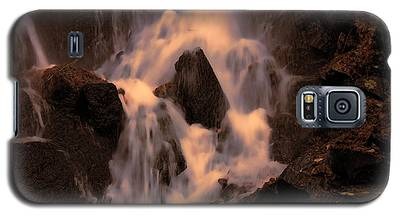 Traditional Waterfall At Sunset Galaxy S5 Case