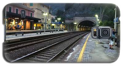 Train Tunnel In Cinque Terre Italy Galaxy S5 Case