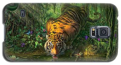 Jungle Galaxy S5 Cases