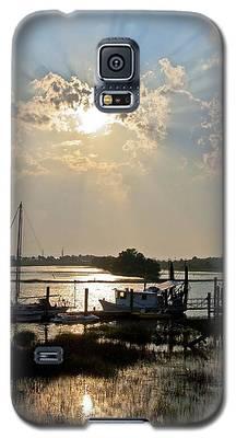 Tybee Sunset Galaxy S5 Case