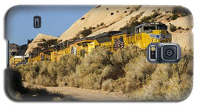 Union Pacific Rolling Through The Mormon Rocks Galaxy S5 Case