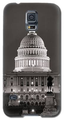 United States Capitol At Night Galaxy S5 Case