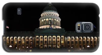 Utah State Capitol Front Galaxy S5 Case