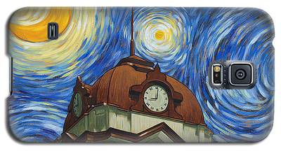 Van Gogh Courthouse Galaxy S5 Case