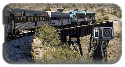 Verde Canyon Railway On Trestle Galaxy S5 Case