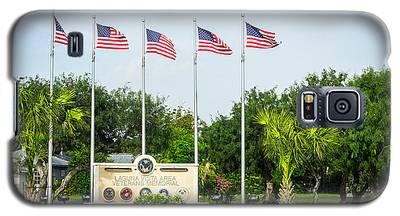 Veterans Memorial Laguna Vista Texas Galaxy S5 Case