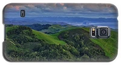 View Of Morro Bay Galaxy S5 Case