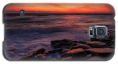 Washington Oaks Winter Sunrise Galaxy S5 Case