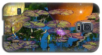 Waterlily Reflections Galaxy S5 Case