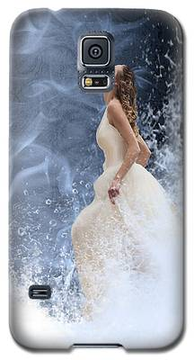 Waves Of His Glory Galaxy S5 Case