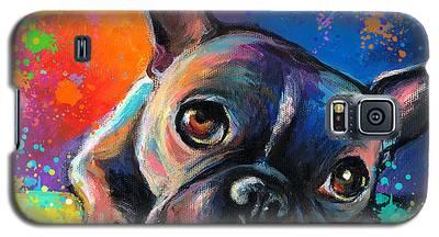 French Bulldog Galaxy S5 Cases