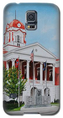 White County Courthouse - Veteran's Memorial Galaxy S5 Case