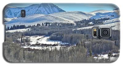 Winter Evening Aspen Galaxy S5 Case