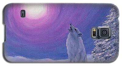 Winter Wolf Song Galaxy S5 Case