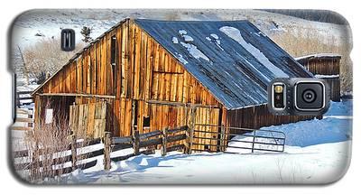 Wintering Range Barn Galaxy S5 Case