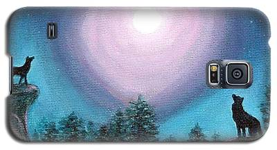 Wolf Heart Song Galaxy S5 Case