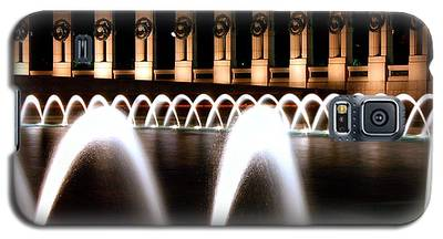 World War II Memorial At Night Galaxy S5 Case