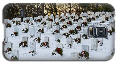 Wreaths At Arlington National Cemetery Galaxy S5 Case