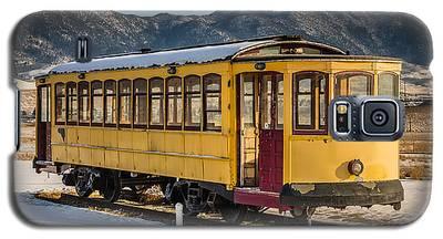 Yellow Trolley Galaxy S5 Case