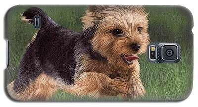 Yorkshire Terrier Galaxy S5 Cases