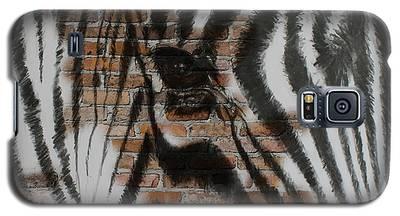 Zebra Wall Galaxy S5 Case