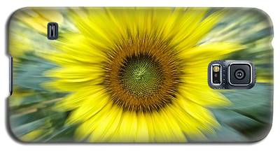 Zoom Sunflower Galaxy S5 Case