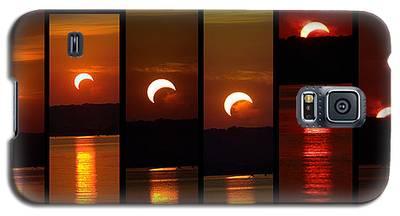 2012 Solar Eclipse Galaxy S5 Case