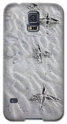 Bird Foot Prints Galaxy S5 Case