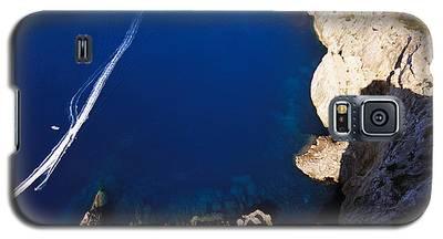 Boat In The Sea Galaxy S5 Case