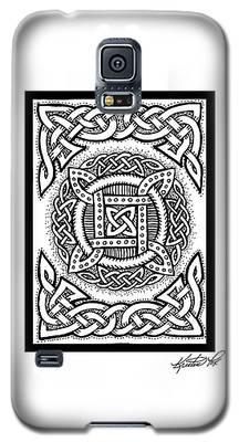 Celtic Four Square Circle Galaxy S5 Case