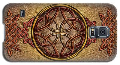 Celtic Knotwork Enamel Galaxy S5 Case