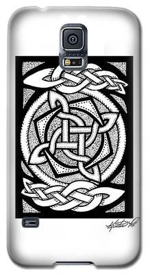 Celtic Knotwork Rotation Galaxy S5 Case