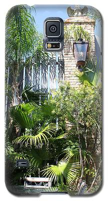 Courtyard Lunch Galaxy S5 Case
