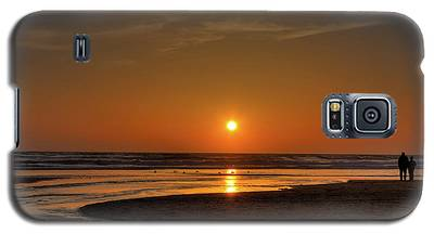 Enjoying The Sunset Galaxy S5 Case