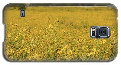Field Of Yellow Daisy's Galaxy S5 Case