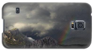 Mountain Storm Galaxy S5 Case