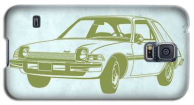 Vintage Auto Drawings Galaxy S5 Cases