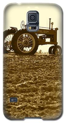 Old Tractor I In Sepia Galaxy S5 Case