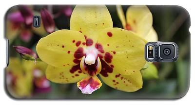 Orchid Tie Dye Galaxy S5 Case