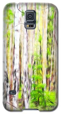 Out Of One Many Fractal Galaxy S5 Case