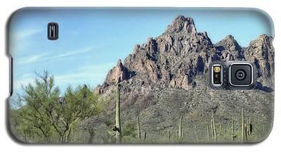Ragged Top Mountain Panorama Galaxy S5 Case