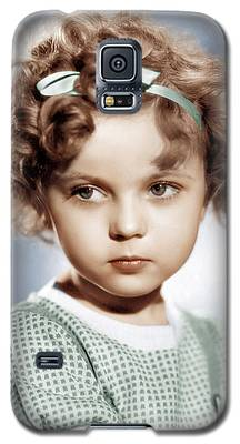 Shirley Temple Galaxy S5 Cases